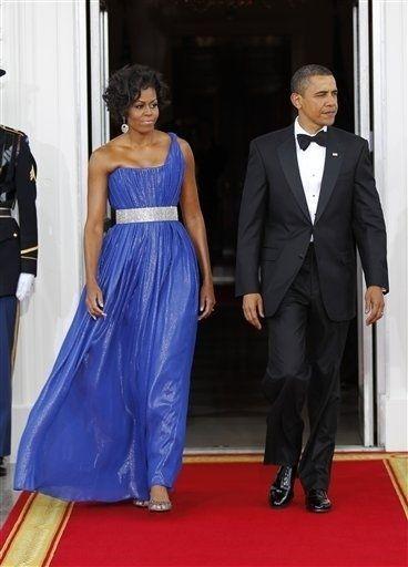 Barack Obama, Michelle Obama, Margarita Zavala, Felipe Calderon