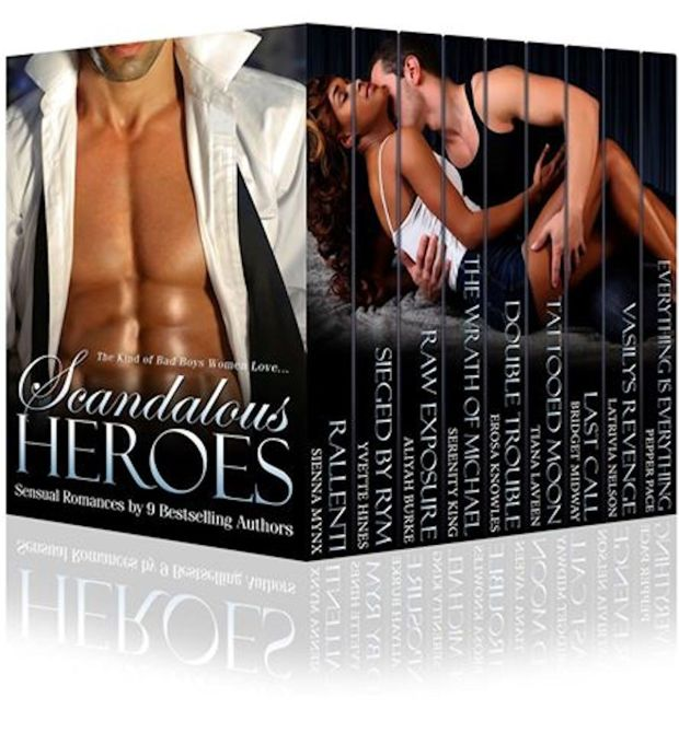 Scandalous Heroes Amazon
